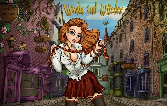 Wands and Witches / Ведьмы и волшебные палочки